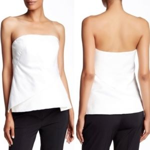 Ted Baker Tulip Fold Strapless Top